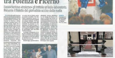 """Dicono di noi i giornali - Inaugurazione """"Sala Felicia e Peppino Impastato"""""""