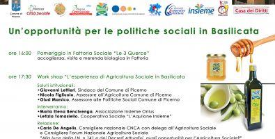 Seminario su l'agricoltura sociale