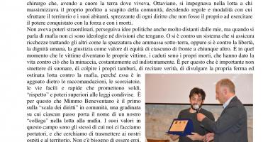"""""""NON LASCIAMOLI SOLI"""" - INSIEME per l'XI Riconoscimento Nazionale Mimmo Beneventano."""