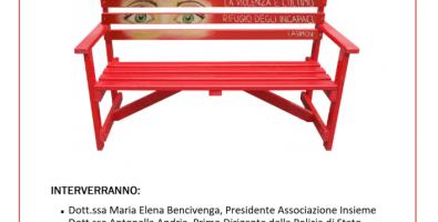 Una Panchina Rossa Contro il Femminicidio
