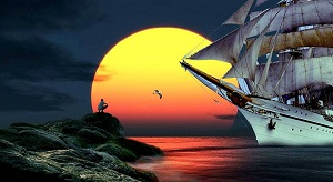 sailboat-sunset-249180